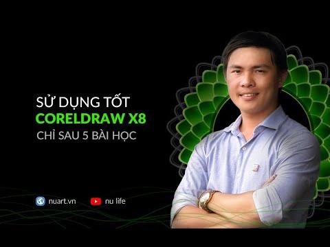 HỌC CORELDRAW X8 - BÀI 1