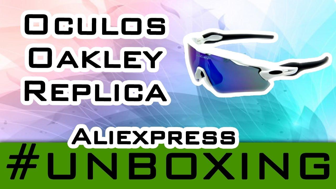 UNBOXING ALIEXPRESS #15  Óculos Oakley Replica