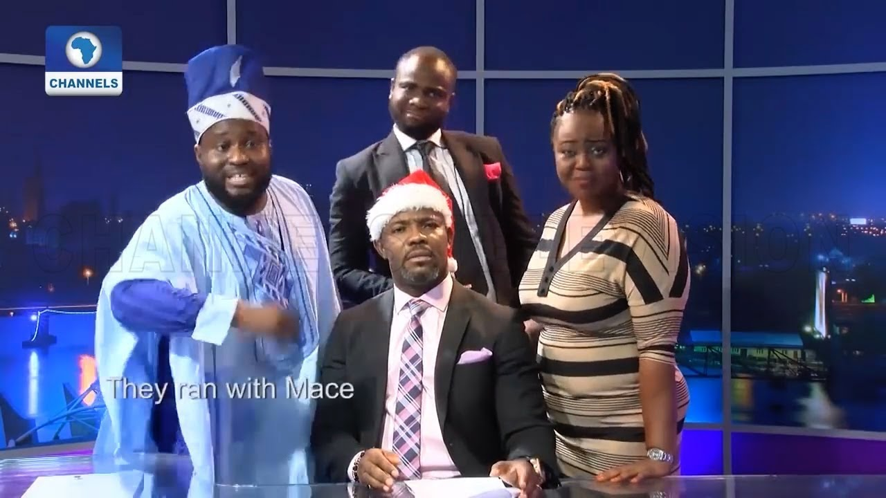 Okey Bakassi Leads The Other News In Hilarious Christmas Carol Remake