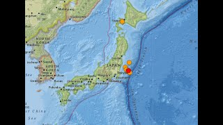 Japan Quakes continue... Something much larger coming... Earthquake update 8/3/2021