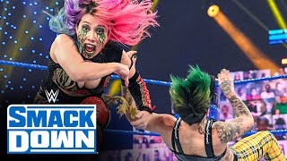 Asuka & Charlotte Flair vs. The Riott Squad: SmackDown, Jan. 22, 2021