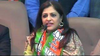 Former AAP leader Shazia Ilmi joins BJP ahead of Delhi polls