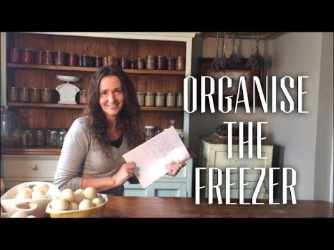 Organise the Freezer - Inventory Pantry Challenge