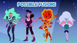 Possible fusions  (fan fusions)