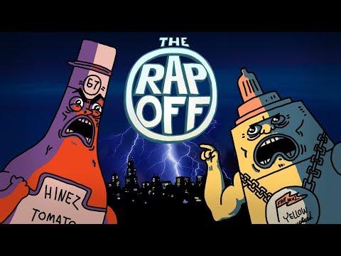 Ketchup vs Mustard RAP BATTLE ft. Dizaster (RapOff)