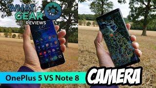 Note 8 Vs OnePlus 5 Camera