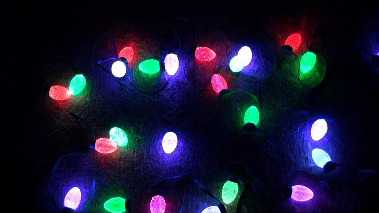 GE G35 String Color Effects LED Color Changing Christmas Lights - YouTube