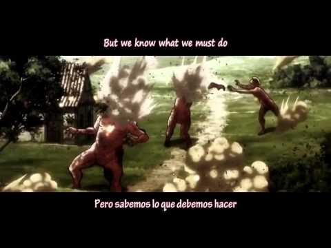 Aimee Blackschleger DOA Sub español English lyrics Shingeki no Kyojin