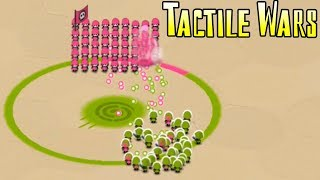 игра Тактильные Войны! Хорошая оборона! Tactile Wars! Clone Armies! small stickman!