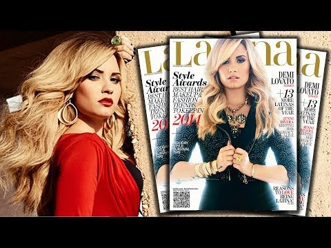 Demi Lovato Tired of Makeout Glee Questions with Naya Rivera - Latina Magazine Cover from YouTube · Duration:  2 minutes 7 seconds
