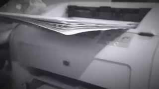 видео Черно-белая печать