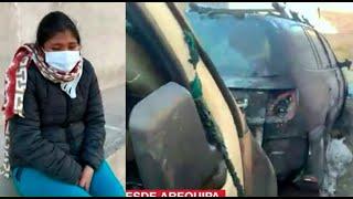 Queman auto y matan mascotas de señora que corrió detrás del Presidente en Arequipa