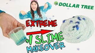EXTREME $1 SLIME MAKEOVER ~ Fixing old ugly slimes! Slimeatory #444