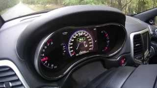 Jeep Grand Cherokee SRT8: 0-100 km/h in 4.6 s | Acceleration 2013