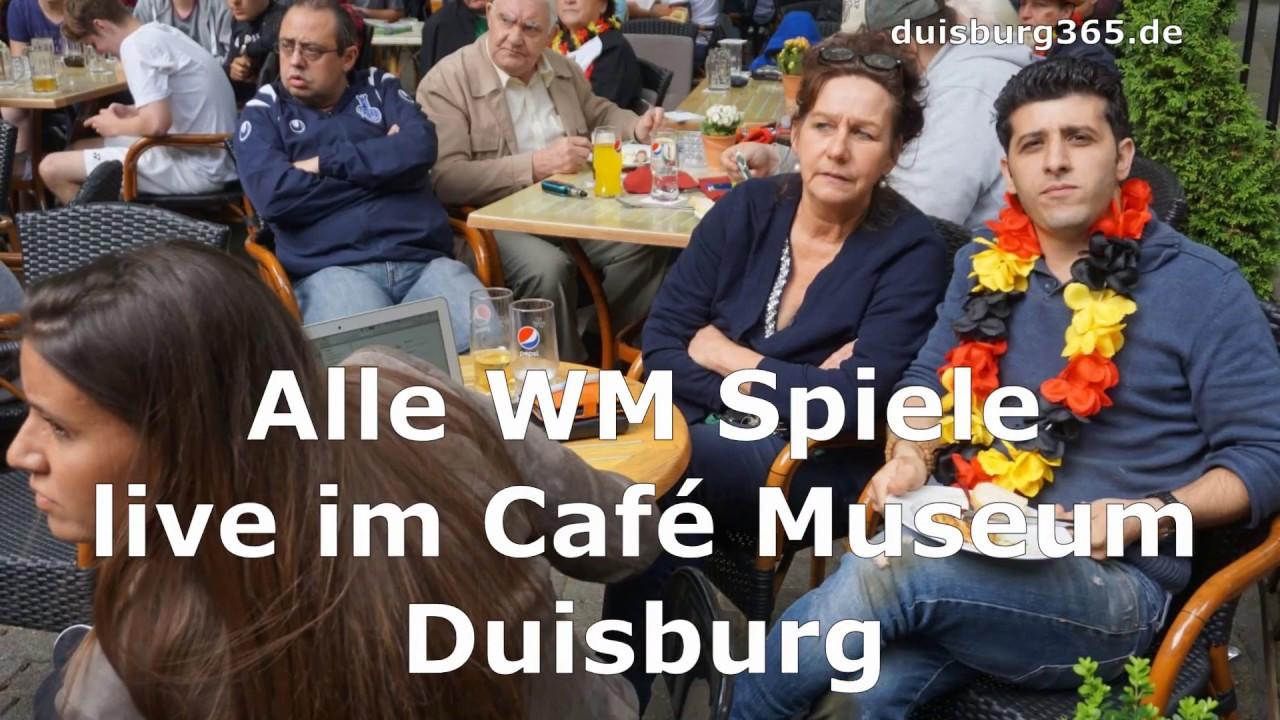 Live im Café Museum Duisburg alle WM Spiele und am Sa , 23 06 2018 ...