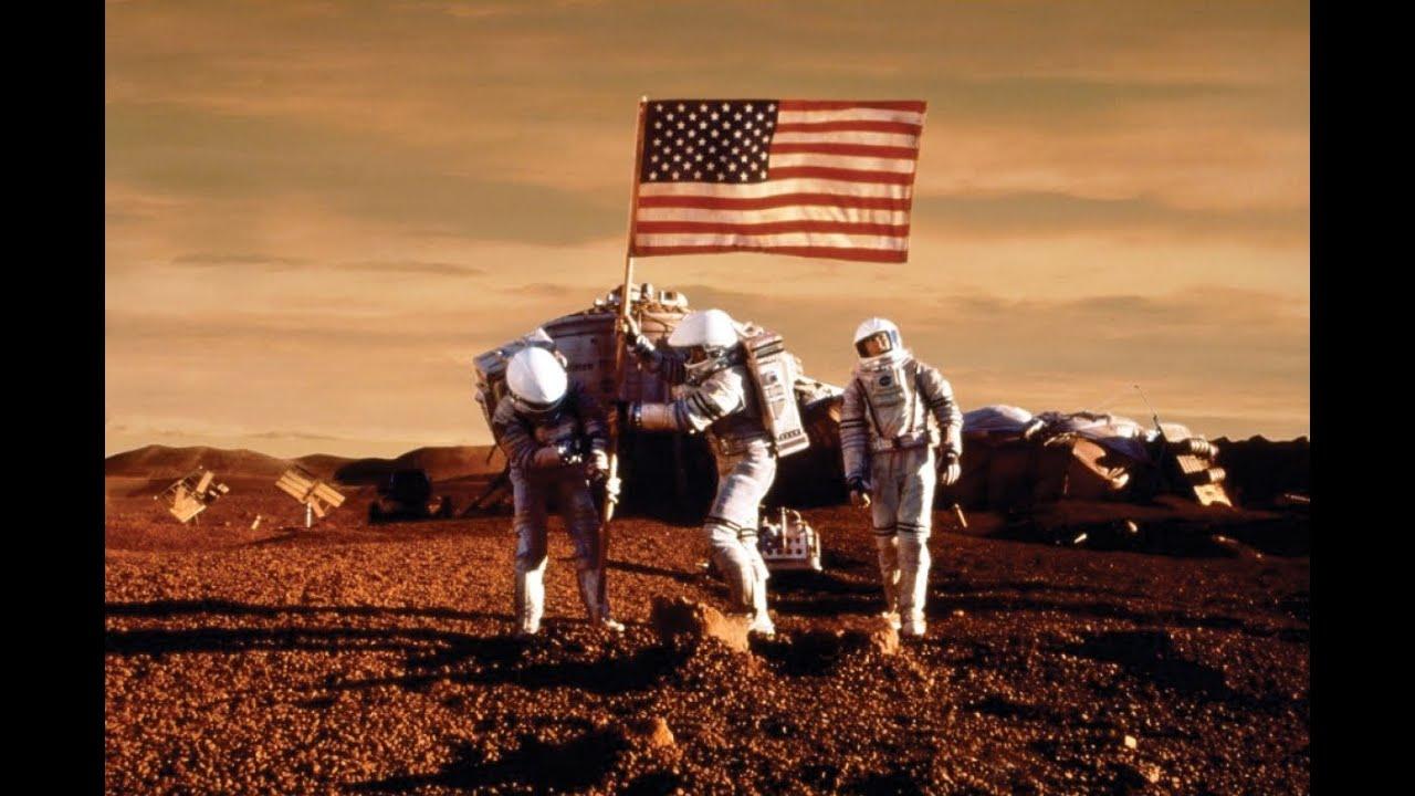 Menschen Auf Dem Mars