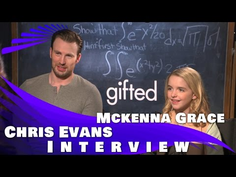 GIFTED - Chris Evans & Mckenna Grace Interview