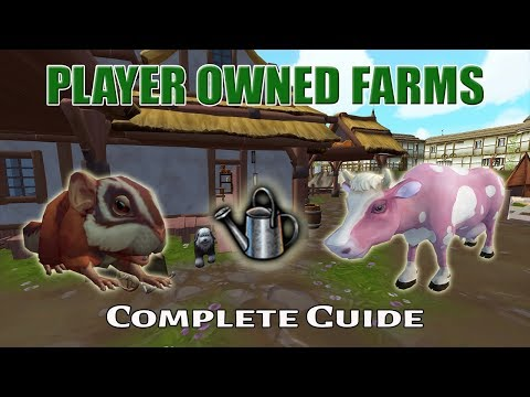 Complete Player Owned Farms Guide [Runescape 3]