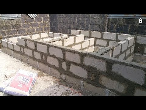 CONCRETE FISH TANK (NURSERY )CONSTRUCTION 2019