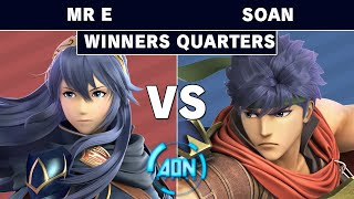 AON Ultimate #050   Demise  Mr E Lucina Vs GG  Soan Ike Winners Quarterfinals   Smash Ultimate