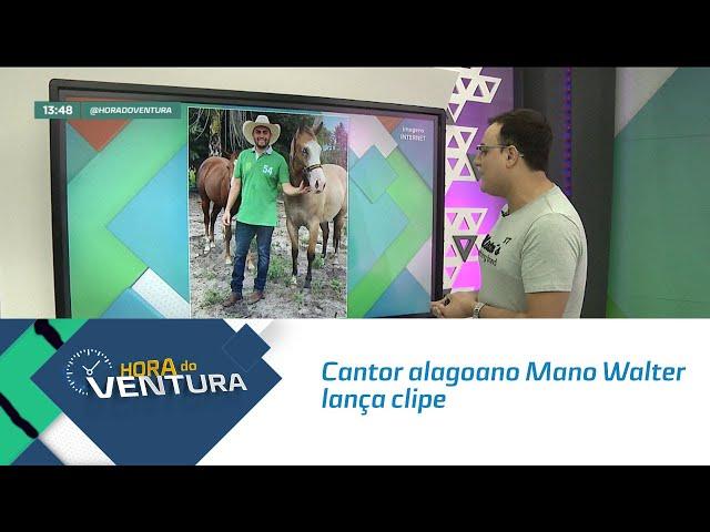 """Cantor alagoano Mano Walter lança clipe de """"Monta Logo Vai"""" - Bloco 01"""