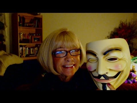 Scientology and Guy Fawkes Oh Happy Day