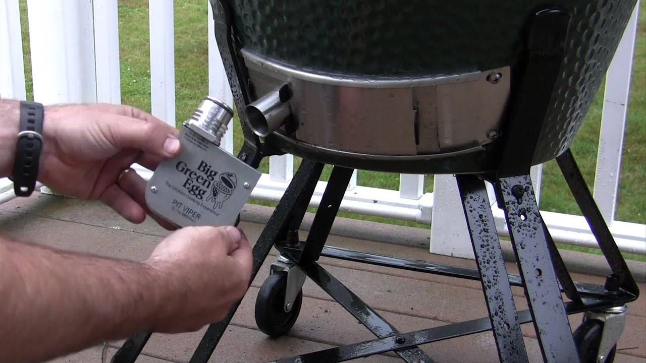 and operate the DigiQ DX2 by BBQ Guru on your Big Green Egg   #4F6238
