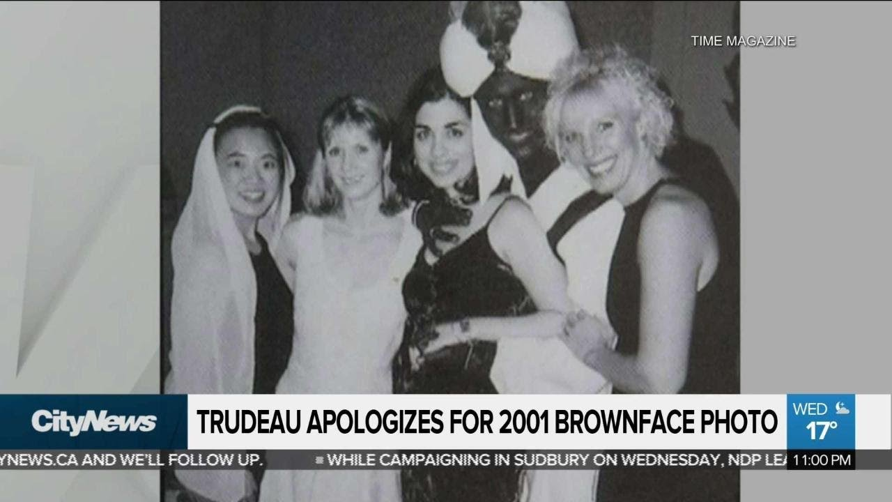 Justin Trudeau Apologizes After Brownface Photo Surfaces