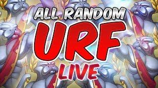 AR URF 2017 - Let's play ULTRA RAPID FIRE MODE - League of Legends - EUNE
