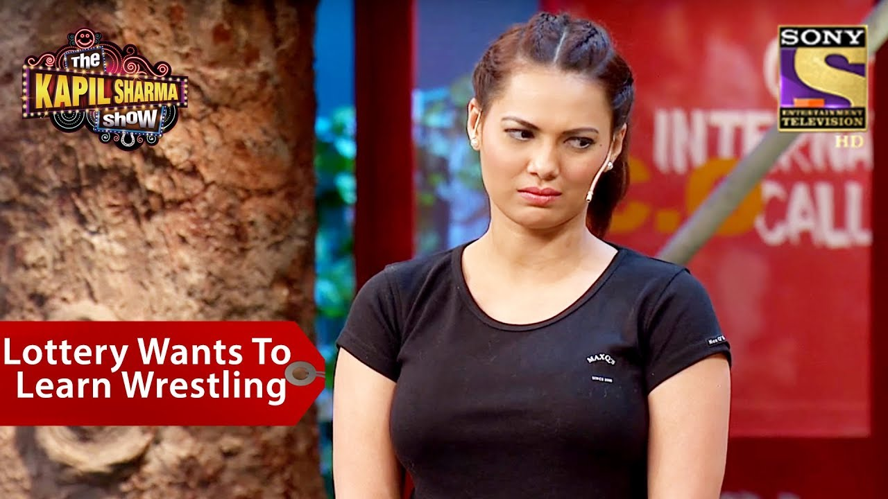 Lottery Wants To Learn Wrestling - The Kapil Sharma Show