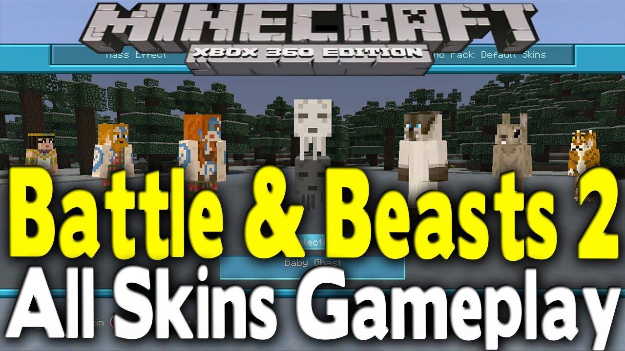 Minecraft 2 Skins Portal Xbox