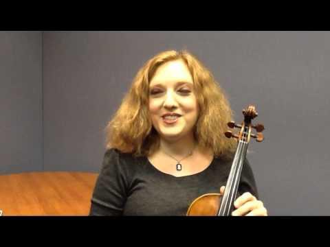 Rachel Barton Pine - on Maud Powell, her violin hero