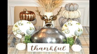 Huge 2018 Fall Haul Home Decor Homegoods, Hobby Lobby, Pier 1, Dollar Tree, Goodwill