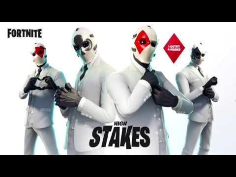 Nouveaux Skin Joker Sur Fortnite Battle Royale Youtube
