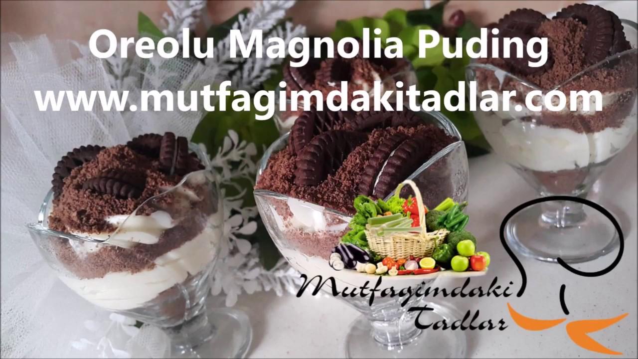 Magnolia Puding Yapımı Videosu