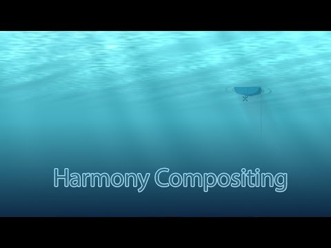 Compositing water fx in Harmony
