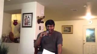 M.A Shoeb singing chaader hashir baadh bhengeche