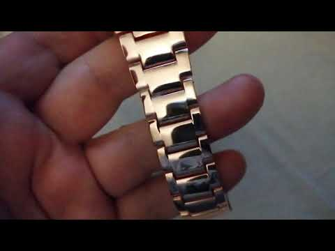 Kingnuos 1853 Day-date Rose Gold Quartz Watch