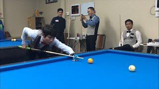 Nguyễn Sỹ Tường vs Đặng Minh Trân. Billiards Út Nhi