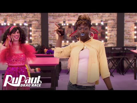RuPaul's Drag Race (Season 8 Ep. 2) | Sneak Peek: Cha-cha Bitch Fight Mini Challenge | Logo