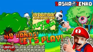The Incredible Adventures of Super Panda Gameplay (Chin & Mouse Only)