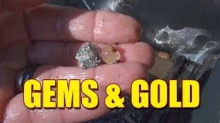 Gem and Gold Hunting - Prospecting for Gold