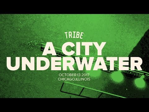 a city underwater. | TRIBE
