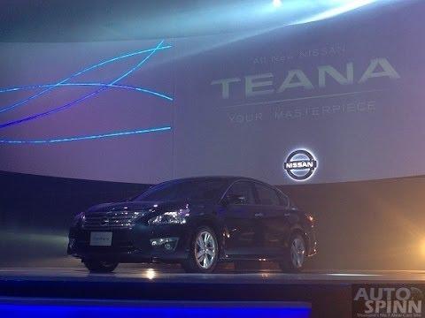 เปิดตัว 2013 All New Nissan Teana : นิสสัน เทียน่าใหม่