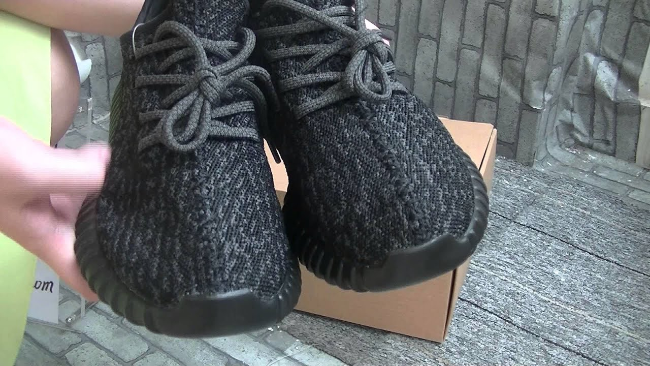 Unauthorized Unauthorized Authentic Adidas Yeezy Boost 350 Pirate Black -  YouTube e33f024a3