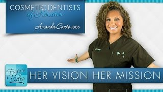 Award Winning Cosmetic Dentist in Houston: Her Mission & Vision Thumbnail