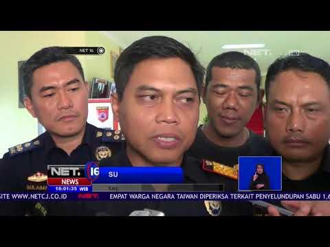 Pemeriksaan Tersangka Pengedar Narkoba Dijaga Ketat Polisi - NET16