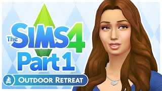 The Sims 4: Outdoor Retreat - 1 (New Threads)