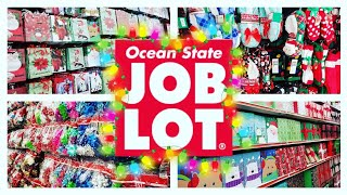 OCEAN STATE JOB LOT CHRISTMAS SHOP WITH ME