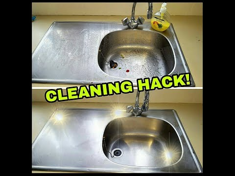 HOW TO SUPER SHINE YOUR SINK IN MINUTES!